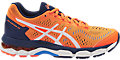 GEL-KAYANO 23 GS:SHOCKING ORANGE/WHITE/INDIGO BLUE