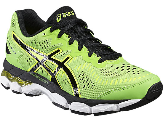 GEL-KAYANO 23 GS GREEN GECKO/BLACK/SAFETY YELLOW 7