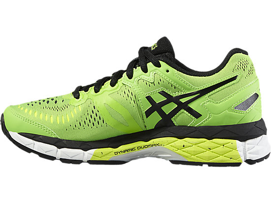 GEL-KAYANO 23 GS GREEN GECKO/BLACK/SAFETY YELLOW 11
