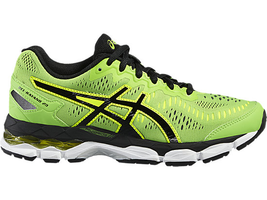 GEL-KAYANO 23 GS GREEN GECKO/BLACK/SAFETY YELLOW 3