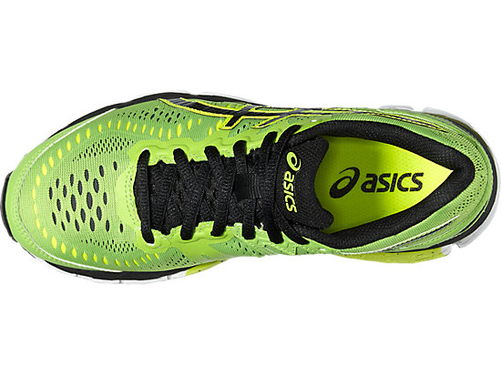 GEL-KAYANO 23 GS GREEN GECKO/BLACK/SAFETY YELLOW 19