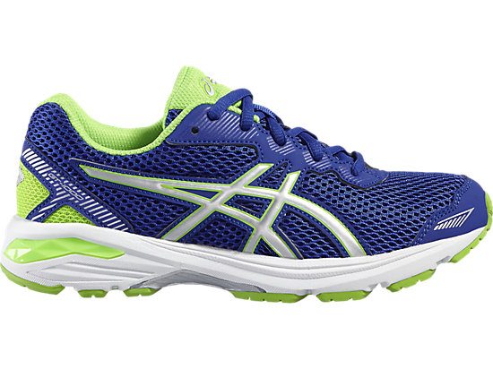 GT-1000 5 GRADE SCHOOL ASICS BLUE/WHITE/GREEN GECKO 3