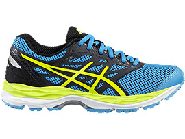 GEL-CUMULUS 18 GS, ISLAND BLUE/SAFETY YELLOW/BLACK