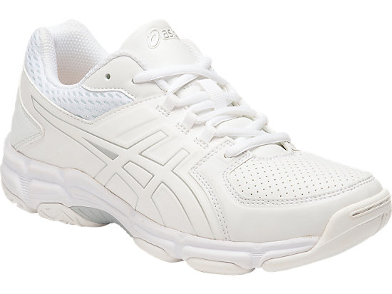 GEL-540TR GS - LEATHER WHITE/SNOW/SILVER 3