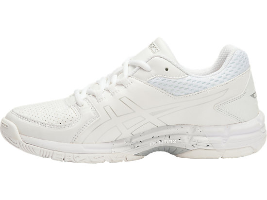GEL-540TR GS - LEATHER WHITE/SNOW/SILVER 11