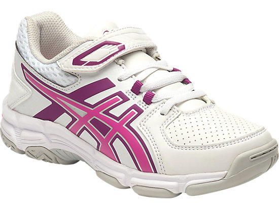 GEL-540TR PS LEATHER WHITE/PINK GLOW/PHLOX 3