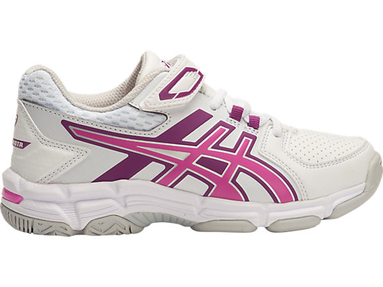 GEL-540TR PS LEATHER WHITE/PINK GLOW/PHLOX 15