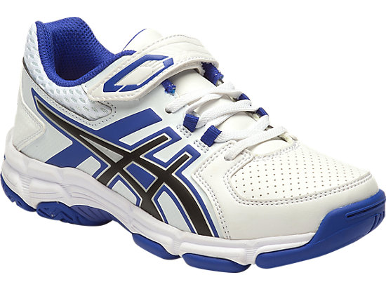 GEL-540TR PS LEATHER WHITE/ASICS BLUE/BLACK 3