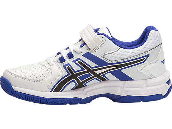GEL-540TR PS LEATHER WHITE/ASICS BLUE/BLACK 11
