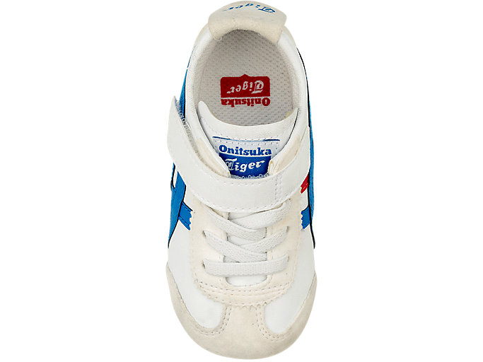 Top view of Mexico 66 Toddler, WHITE/CLASSIC BLUE