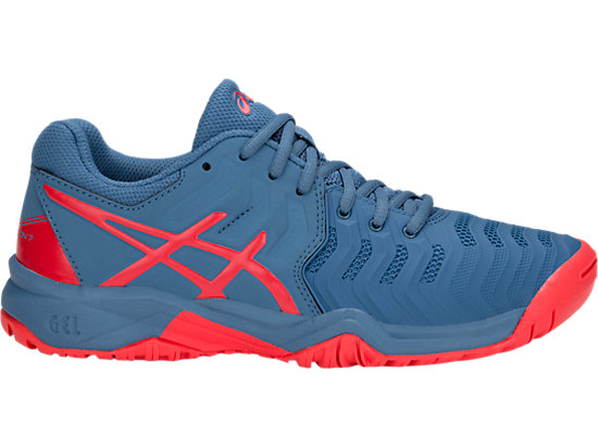 4b032065e5ab GEL-RESOLUTION 7 GS | KIDS | AZURE/RED ALERT | ASICS South Africa
