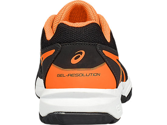GEL-RESOLUTION 7 GS BLACK/SHOCKING ORANGE/WHITE 19