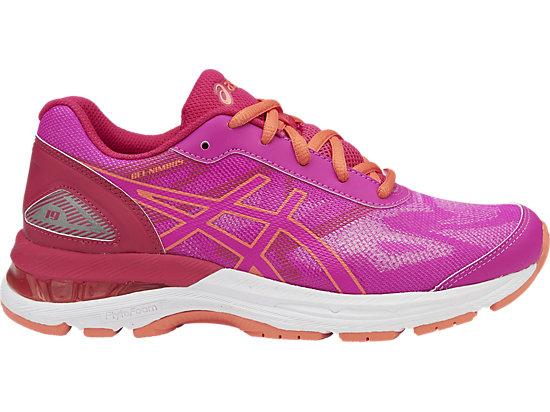 GEL-NIMBUS 19 GS, Pink Glow/Coral Pink/Pale Pink