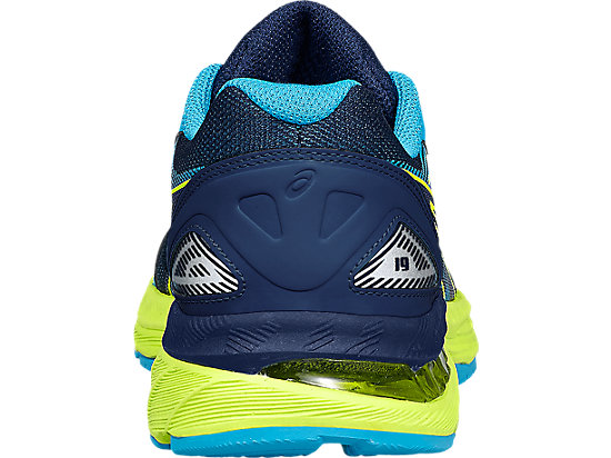 GEL-NIMBUS 19 GS pour enfants INDIGO BLUE/SAFETY YELLOW/ISLAND BLUE 19