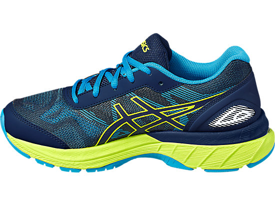 GEL-NIMBUS 19 GS pour enfants INDIGO BLUE/SAFETY YELLOW/ISLAND BLUE 7