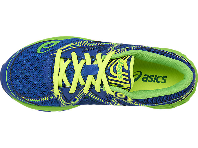 Top view of Noosa GS, IMPERIAL/GREEN GECKO/SAFETY YELLOW