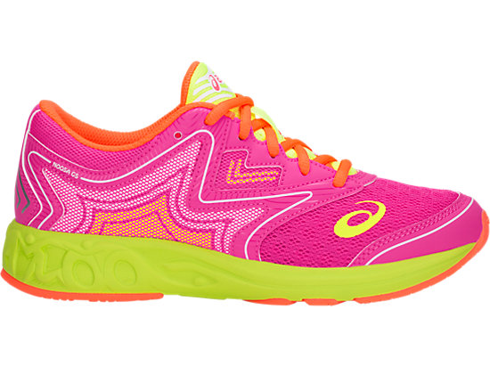 NOOSA GS, PINK GLO/FLASH YELLOW