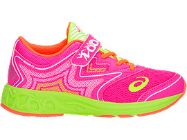 NOOSA TS, PINK GLO/FLASH YELLOW