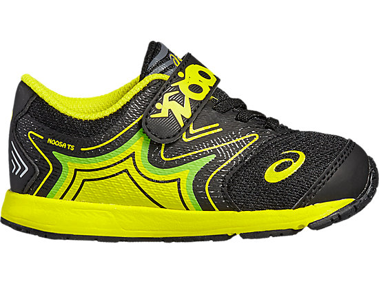 NOOSA TS BLACK/SAFETY YELLOW/GREEN GECKO 3