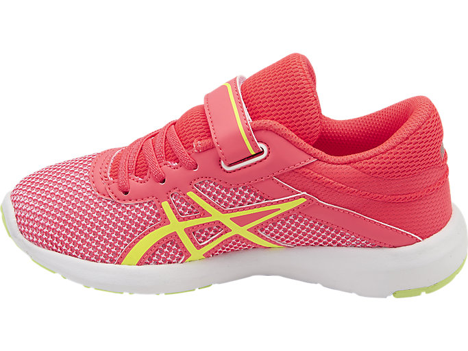 Left side view of fuzeX Lyte 2 PS, DIVA PINK/SAFETY YELLOW/WHITE