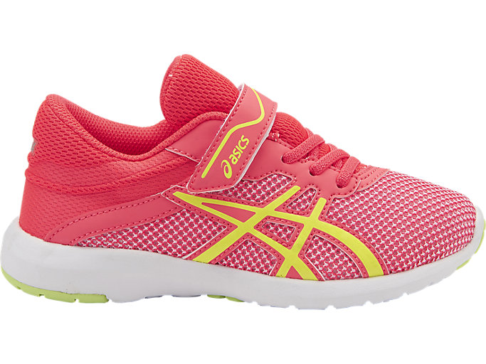 Right side view of fuzeX Lyte 2 PS, DIVA PINK/SAFETY YELLOW/WHITE