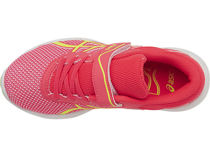 Top view of fuzeX Lyte 2 PS, DIVA PINK/SAFETY YELLOW/WHITE