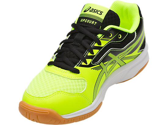 UPCOURT 2 GS SAFETY YELLOW/DARK GREY/BLACK
