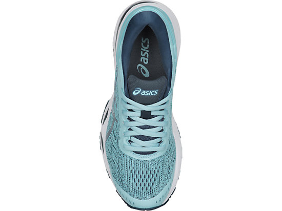 GEL-KAYANO 24 GS PORCELAIN BLUE/SMOKE BLUE/WHITE