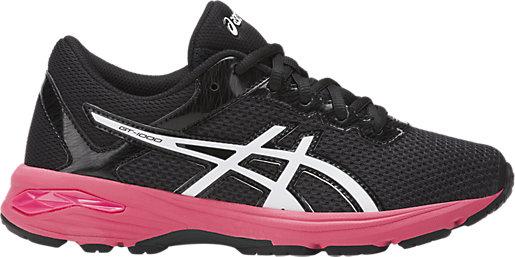 Asics Gt-1000 4 Gs Kids Running Shoes White Pink Blue COMUK:8253