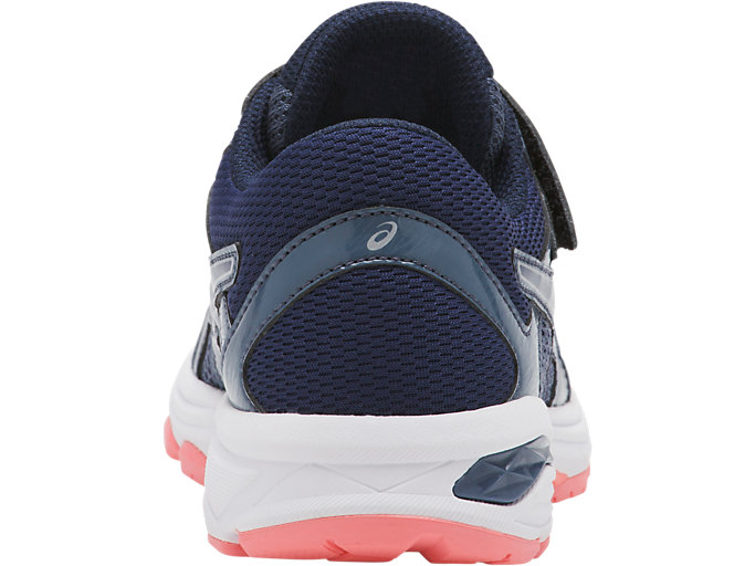 Back view of GT-1000 6 PS, SMOKE BLUE/INDIGO BLUE/BEGONIA PINK