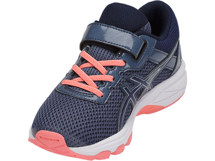 Front Left view of GT-1000 6 PS, SMOKE BLUE/INDIGO BLUE/BEGONIA PINK
