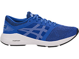 Right side view of RoadHawk FF GS, VICTORIA BLUE/WHITE/BLACK
