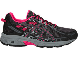 GEL-VENTURE 6 GS, BLACK/PIXEL PINK