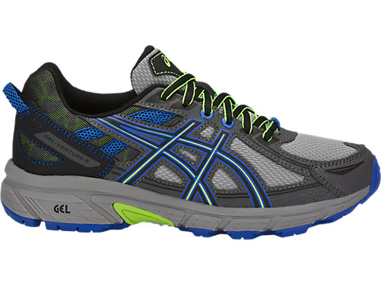 GEL-VENTURE 6 GS, STONE GREY/BLACK/VICTORIA BLUE