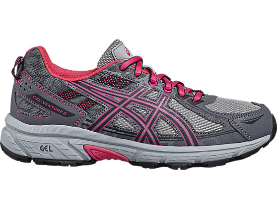 GEL-VENTURE 6 GS, Carbon/Black/Sport Pink