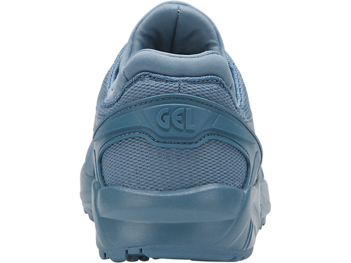 Back view of GEL-KAYANO TRAINER EVO GS, PROVINCIAL BLUE/PROVINCIAL BLUE