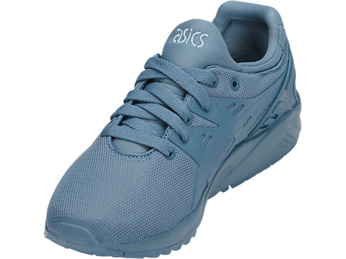 Front Left view of GEL-KAYANO TRAINER EVO GS, PROVINCIAL BLUE/PROVINCIAL BLUE