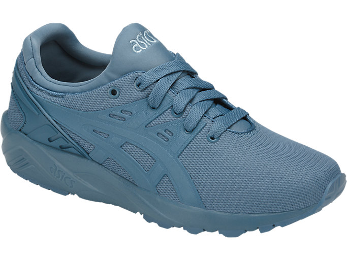 Front Right view of GEL-KAYANO TRAINER EVO GS, PROVINCIAL BLUE/PROVINCIAL BLUE