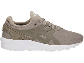 Right side view of GEL-KAYANO TRAINER EVO GS, MOONROCK/MOONROCK