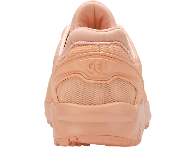 Back view of GEL-KAYANO TRAINER EVO GS, APRICOT ICE/APRICOT ICE
