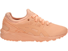 Right side view of GEL-KAYANO TRAINER EVO GS, APRICOT ICE/APRICOT ICE