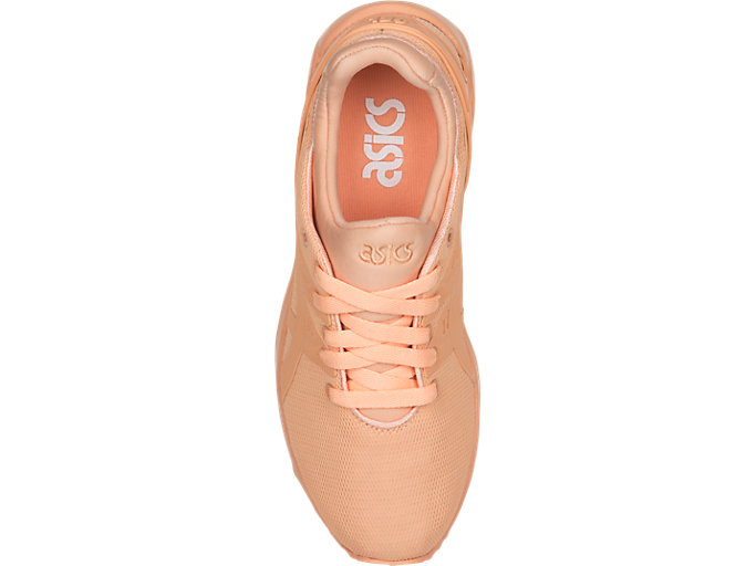 Top view of GEL-KAYANO TRAINER EVO GS, APRICOT ICE/APRICOT ICE