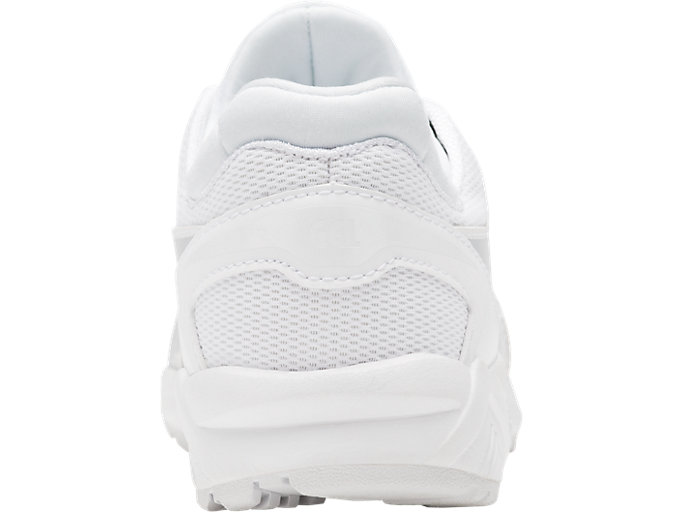 Back view of GEL-KAYANO TRAINER EVO PS, WHITE/WHITE