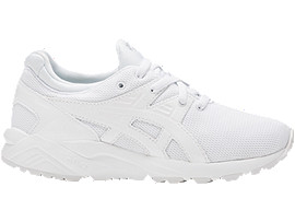 Right side view of GEL-KAYANO TRAINER EVO PS, WHITE/WHITE