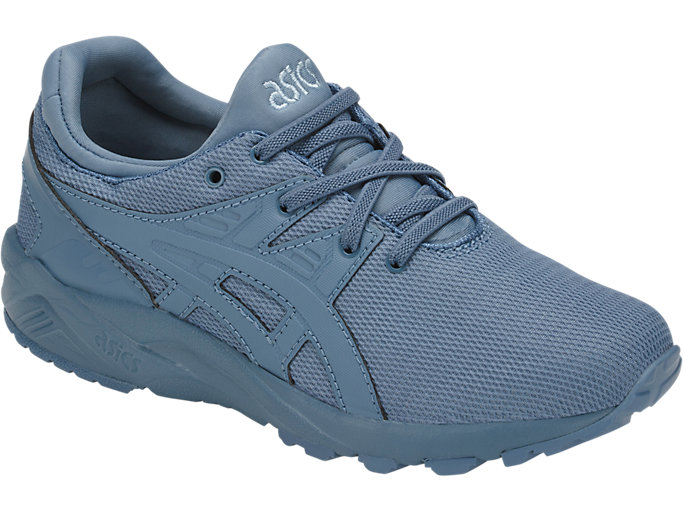 Front Right view of GEL-KAYANO TRAINER EVO PS, PROVINCIAL BLUE/PROVINCIAL BLUE
