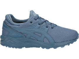 Right side view of GEL-KAYANO TRAINER EVO PS, Provincial Blue/Provincial Blue