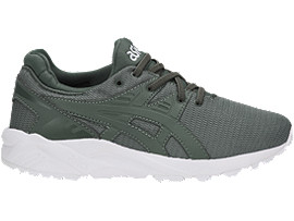 Right side view of GEL-KAYANO TRAINER EVO PS, DARK FOREST/DARK FOREST