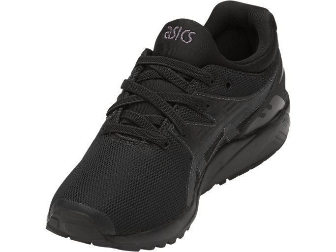Front Left view of GEL-KAYANO TRAINER EVO PS, BLACK/BLACK