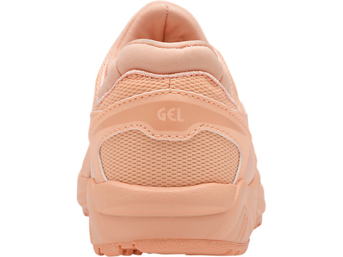 Back view of GEL-KAYANO TRAINER EVO PS, APRICOT ICE/APRICOT ICE