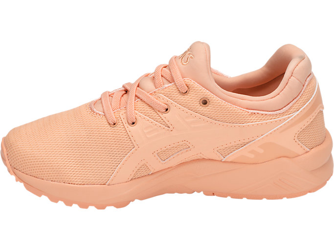 Left side view of GEL-KAYANO TRAINER EVO PS, APRICOT ICE/APRICOT ICE